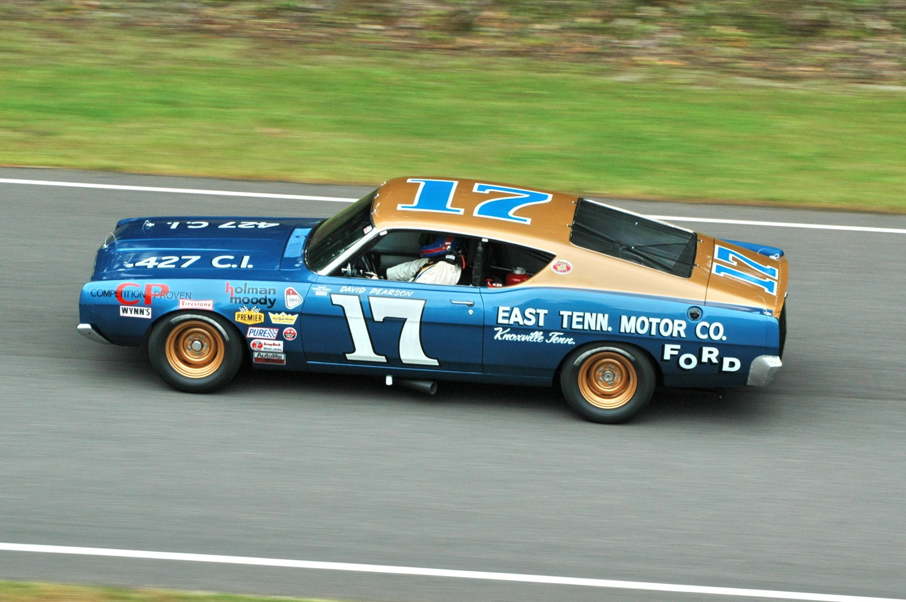 1968 Ford Torino Nascar Classic Race Racing Hot Rod Rods G