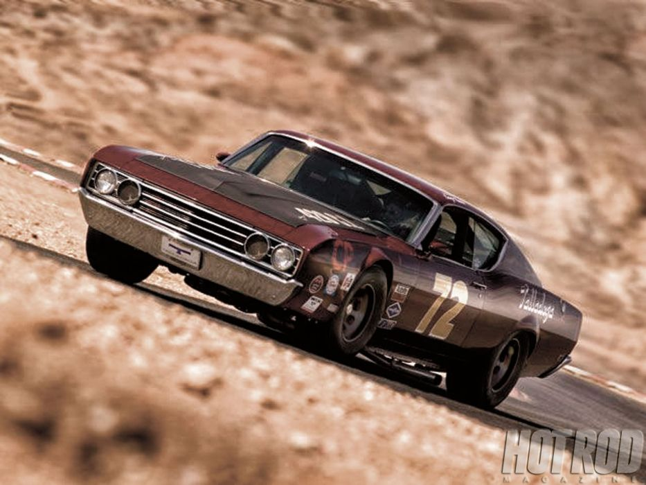 1969 Ford Torino muscle classic nascar race racing hot rod rods   g wallpaper