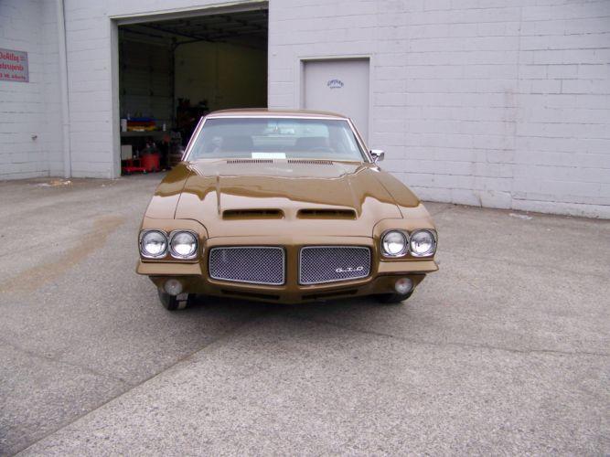 1971 PONTIAC GTO muscle classic f wallpaper