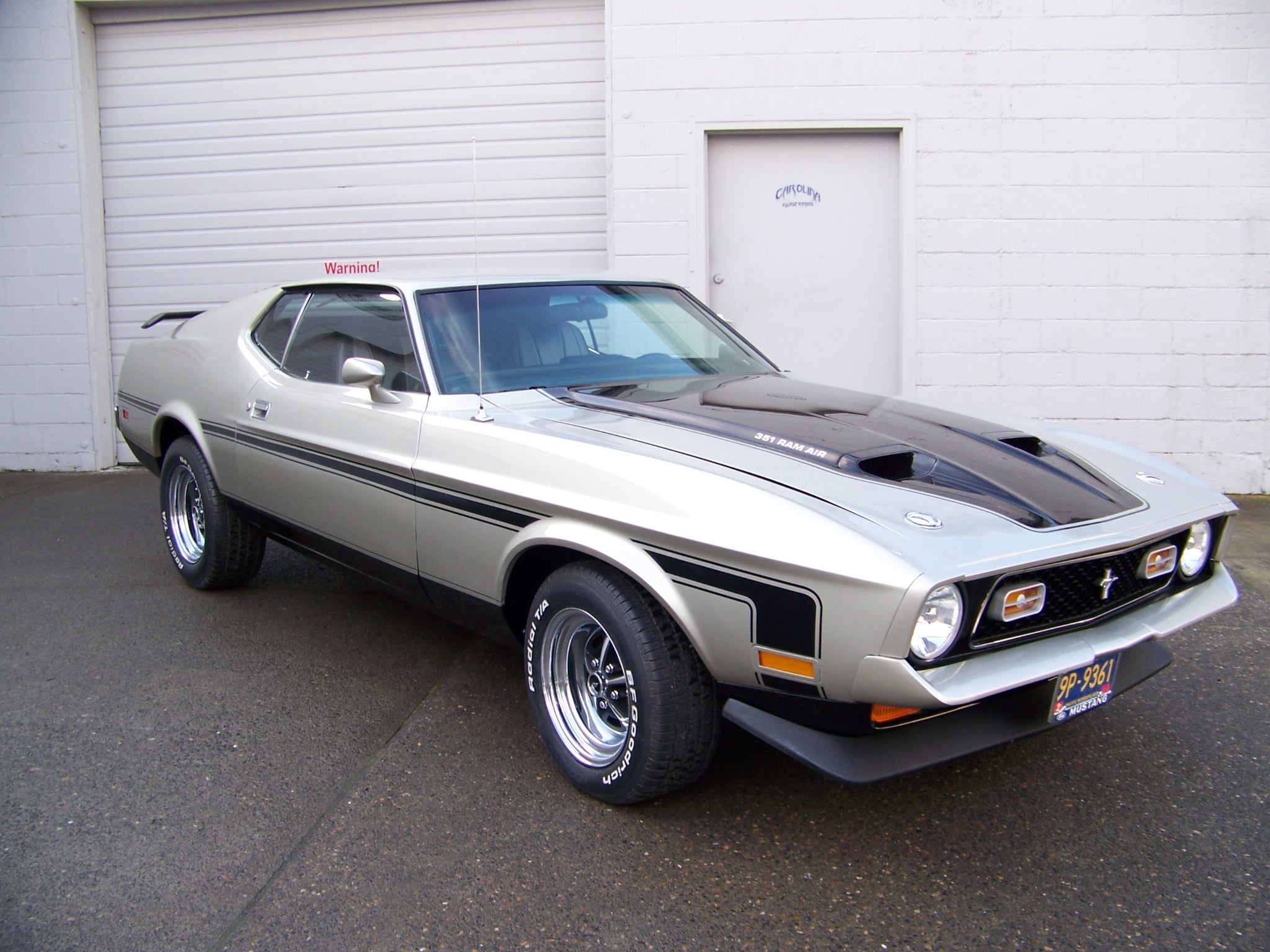 1972 MACH 1 MUSTANG muscle classic e wallpaper