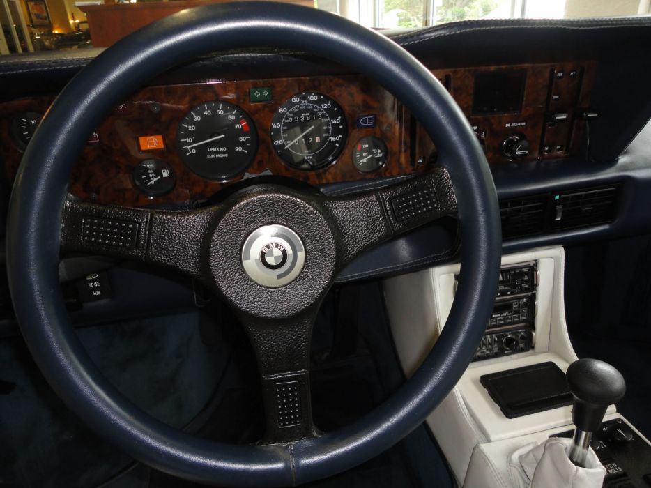 1981 BMW M-1 Pro-Car supercar race racing interior     h wallpaper