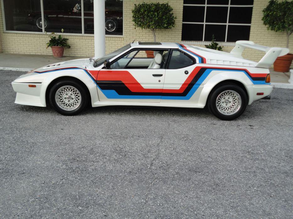 1981 BMW M-1 Pro-Car supercar race racing   g wallpaper