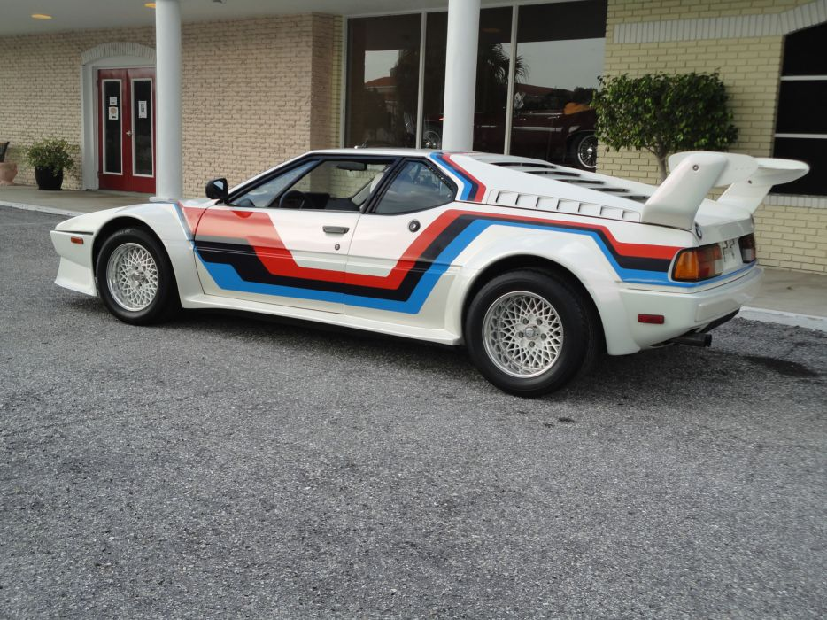 1981 BMW M-1 Pro-Car supercar race racing   gd wallpaper