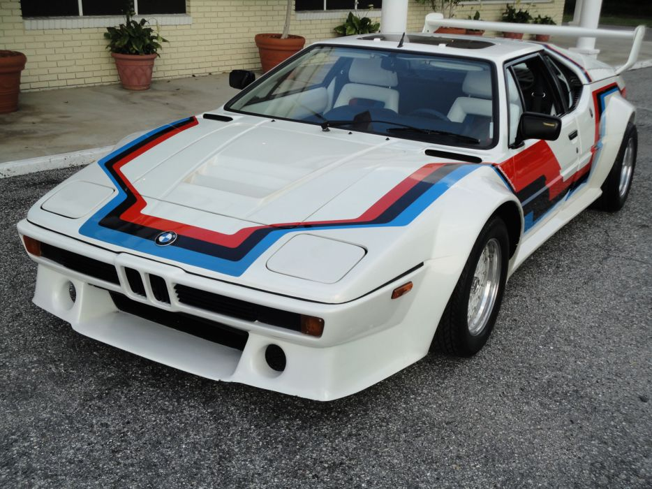 1981 BMW M-1 Pro-Car supercar race racing  g wallpaper