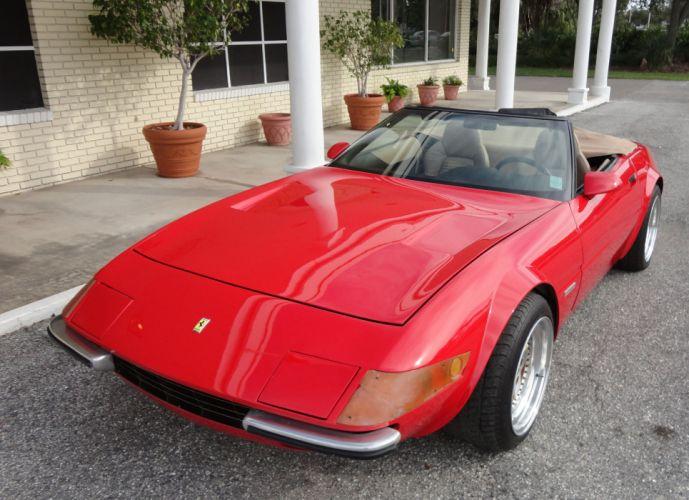 1995 Chevrolet Ferrari Daytona Spider Replica supercar corvette g wallpaper