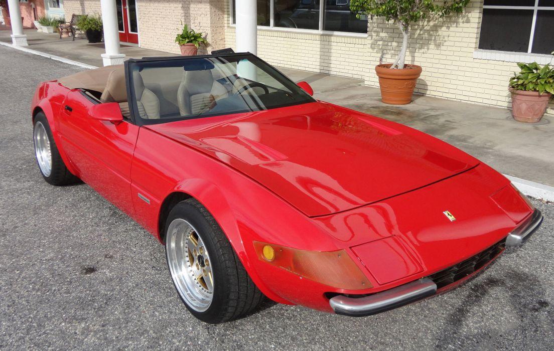 1995 Chevrolet Ferrari Daytona Spider Replica supercar corvette  f wallpaper