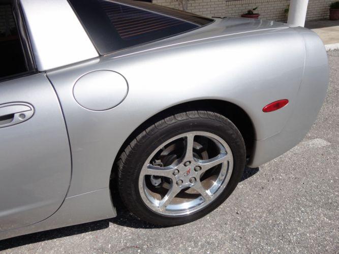 2002 CHEVROLET CORVETTE COUPE supercar wheel h wallpaper
