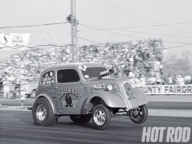 ANGLIA hot rod rods retro drag racing race gasser ds wallpaper
