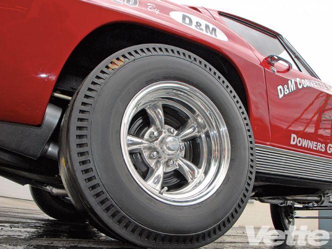 CHEVROLET CORVETTE hot rod rods drag racing race gasser wheel g wallpaper