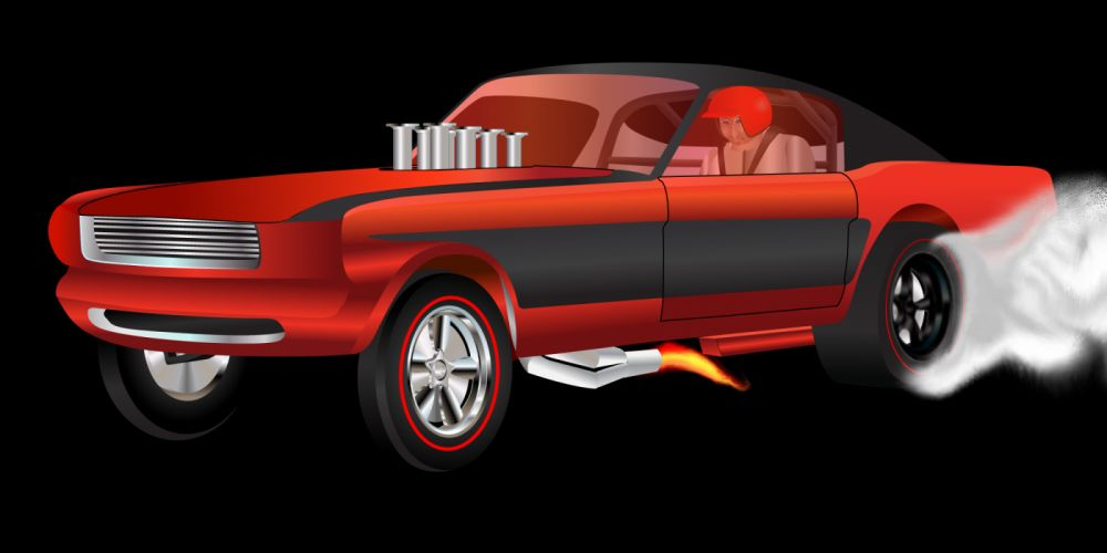 FORD MUSTANG hot rod rods drag racing race gasser re wallpaper