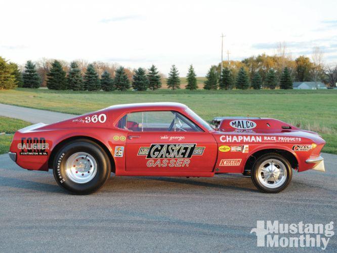 FORD MUSTANG hot rod rods drag racing race gasser wheel g wallpaper