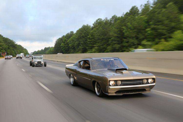 hot rod rods classic 1969 Talladega Torino GPT g wallpaper