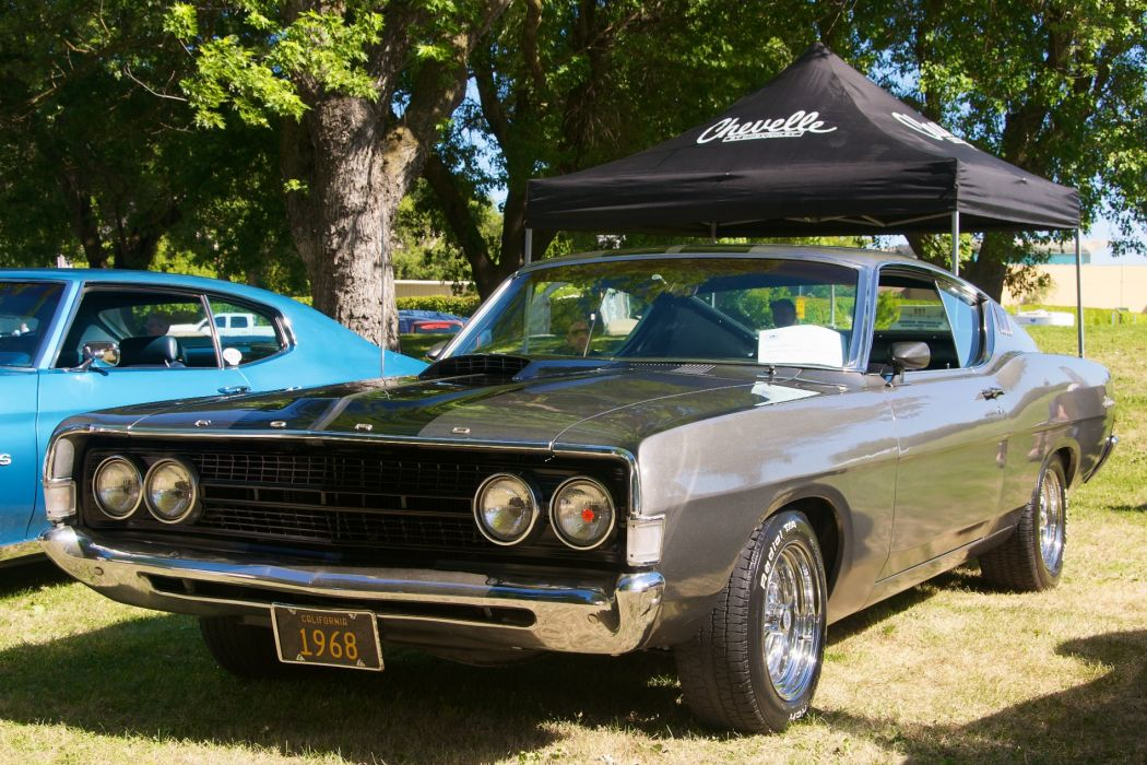 hot rod rods classic muscle 1968 Ford Fairlane       g wallpaper