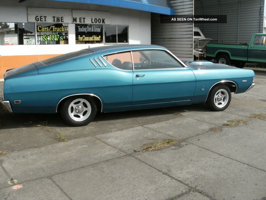 hot rod rods classic muscle 1969 Ford Torino  g wallpaper
