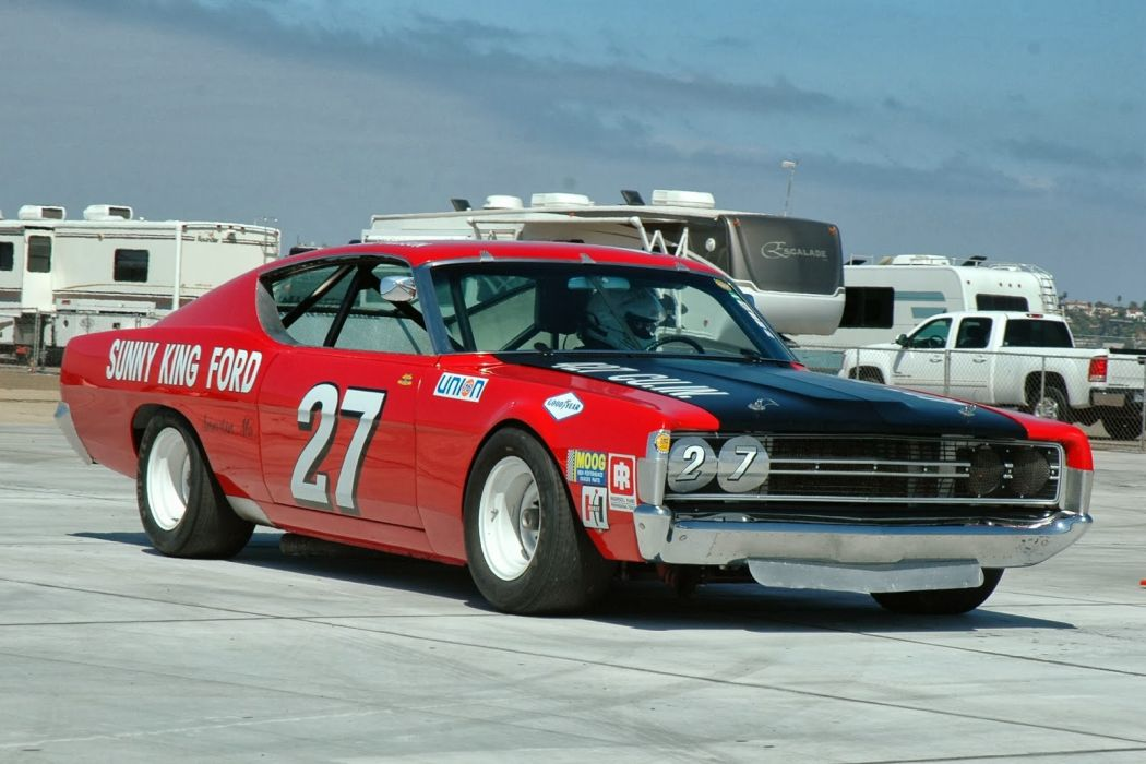 hot rod rods classic muscle 1969 Ford Torino nascar race racing    f wallpaper