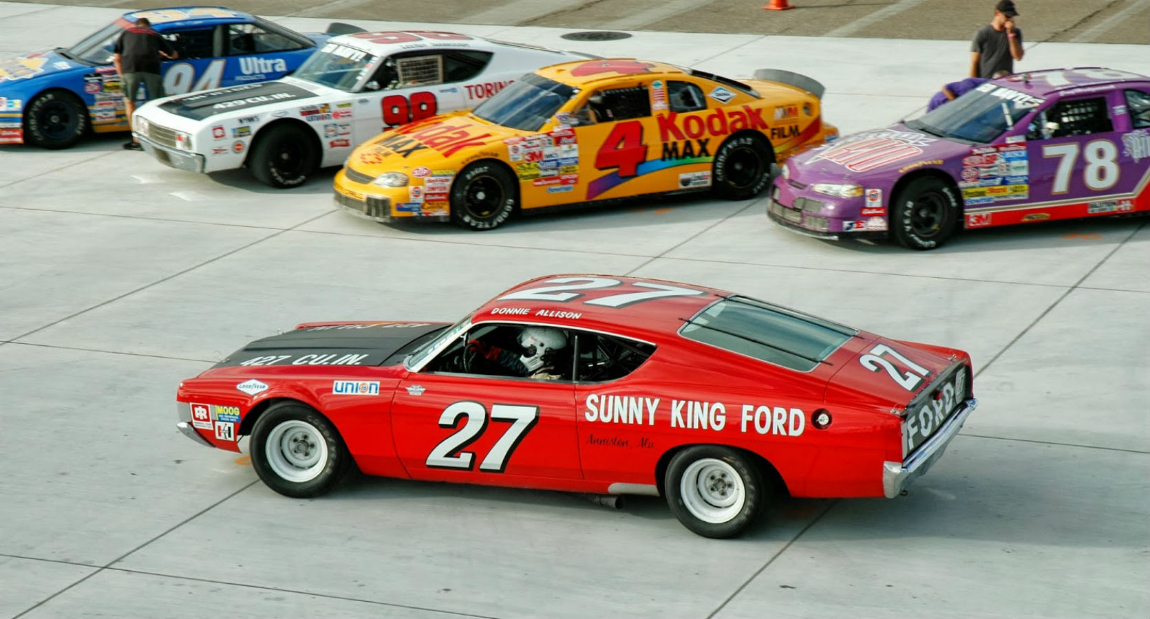 Hot Rod Rods Classic Muscle 1969 Ford Torino Nascar Race
