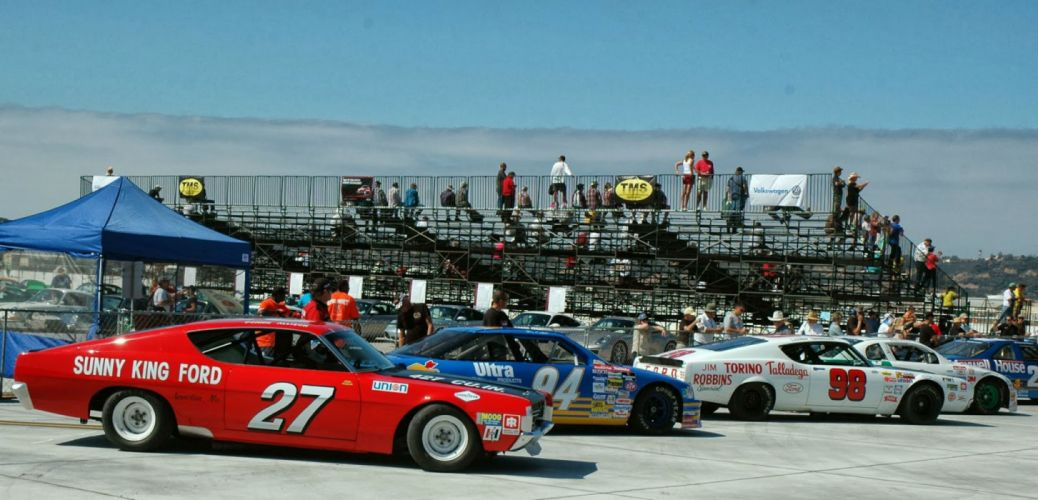 hot rod rods classic muscle 1969 Ford Torino nascar race racing dw wallpaper