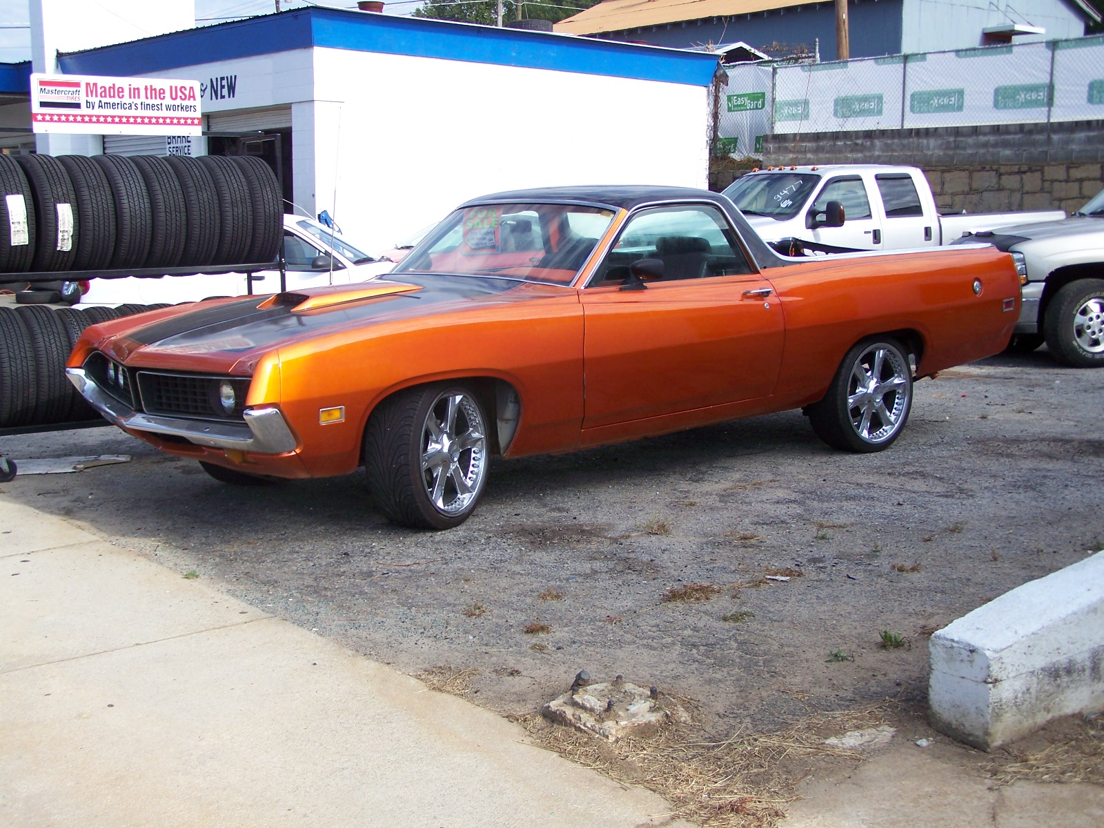 hot rod rods classic muscle 1971 FORD RANCHERO pickup f wallpaper ...