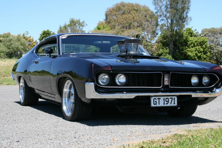 Hot Rod Rods Classic Muscle 1971 Ford Torino F Jpg