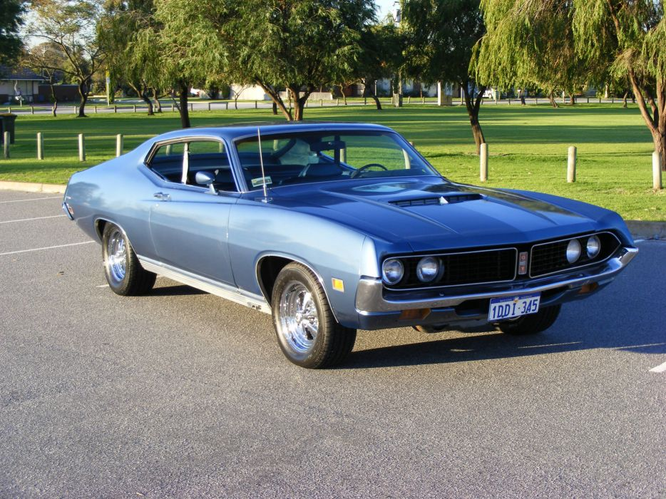 hot rod rods classic muscle 1971 Ford Torino  te wallpaper