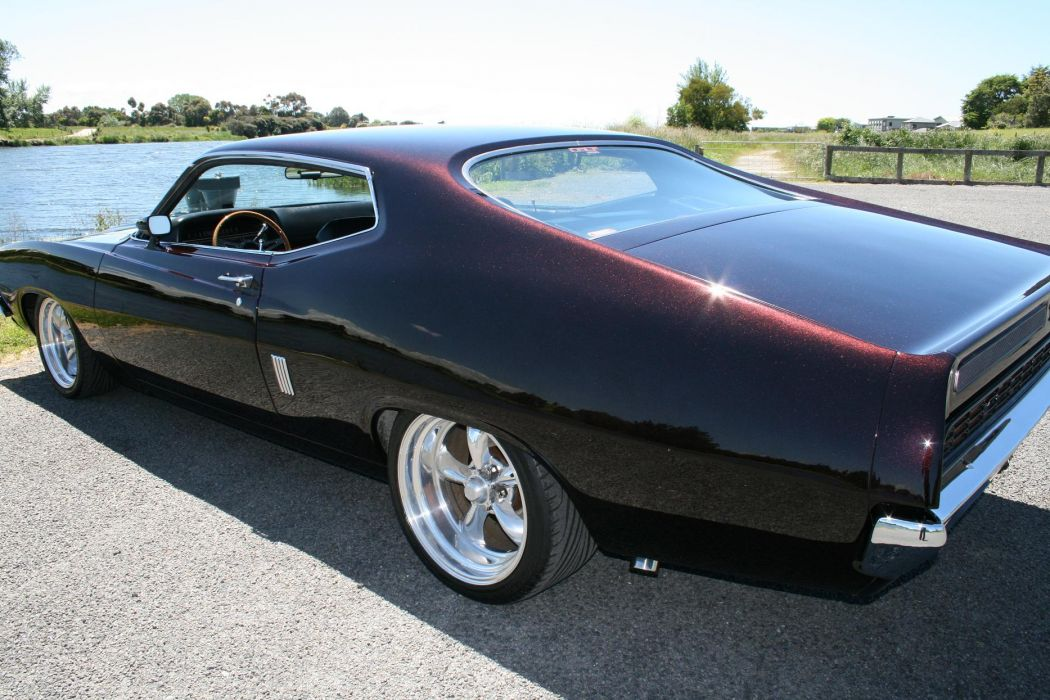 hot rod rods classic muscle 1971 Ford Torino fs_JPG wallpaper