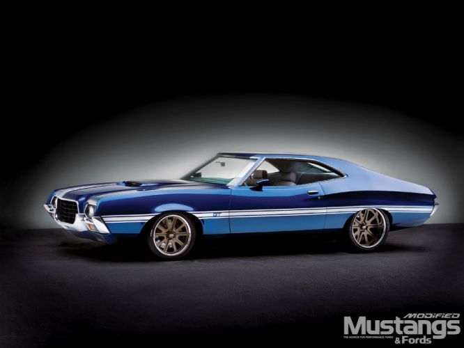 hot rod rods classic muscle 1972 Ford Torino y wallpaper