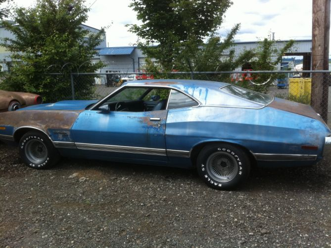 hot rod rods classic muscle 1972 Ford Torino e wallpaper