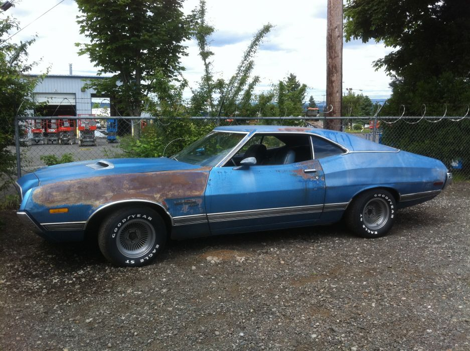 hot rod rods classic muscle 1972 Ford Torino   eq wallpaper