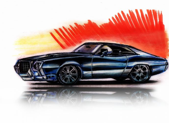hot rod rods classic muscle 1972 Ford Torino t wallpaper