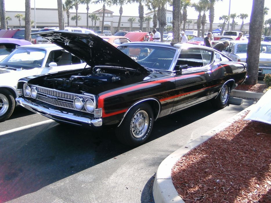 hot rod rods classic muscle Ford Torino   t wallpaper
