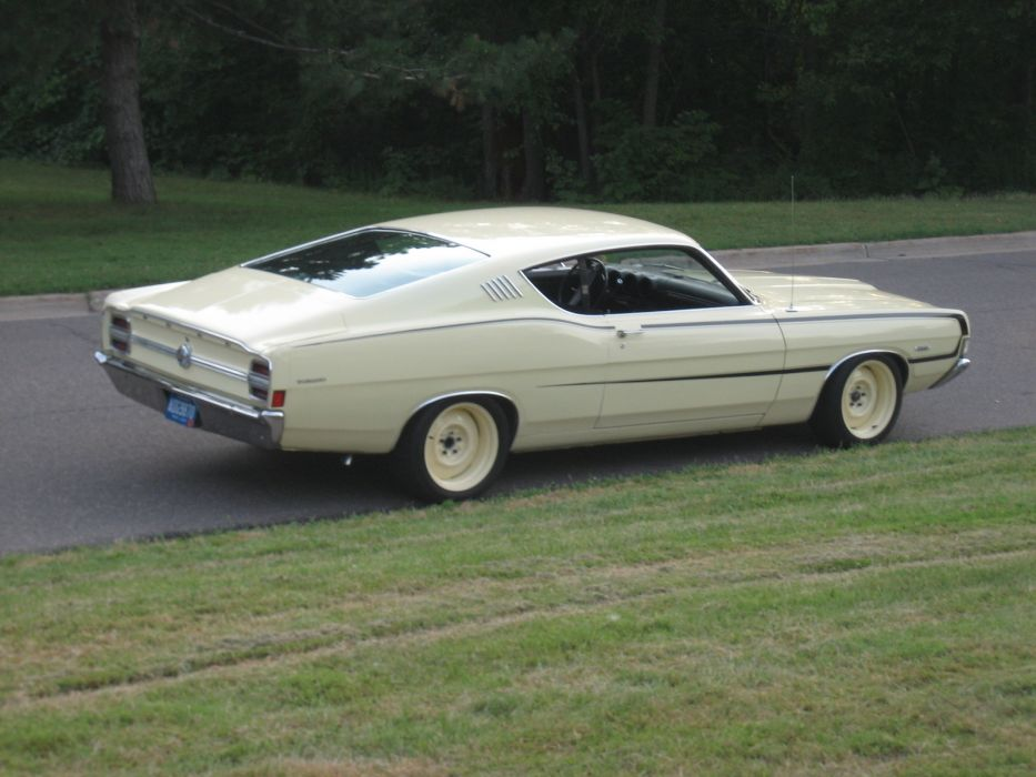 hot rod rods classic muscle Ford Torino 1968      g wallpaper