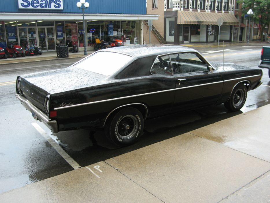 hot rod rods classic muscle Ford Torino 1968  t wallpaper