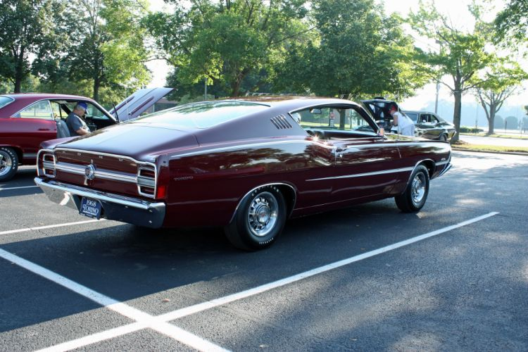 hot rod rods classic muscle Ford Torino 1968 re wallpaper