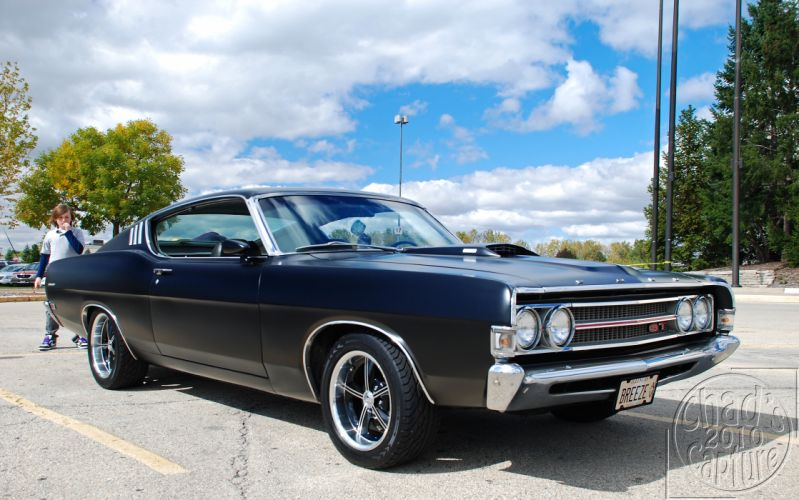 hot rod rods classic muscle Ford Torino 1969 d wallpaper