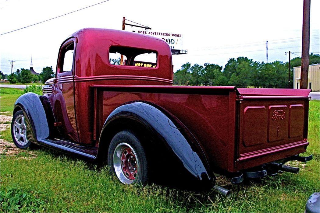 hot rod rods pickup retro ford   f wallpaper