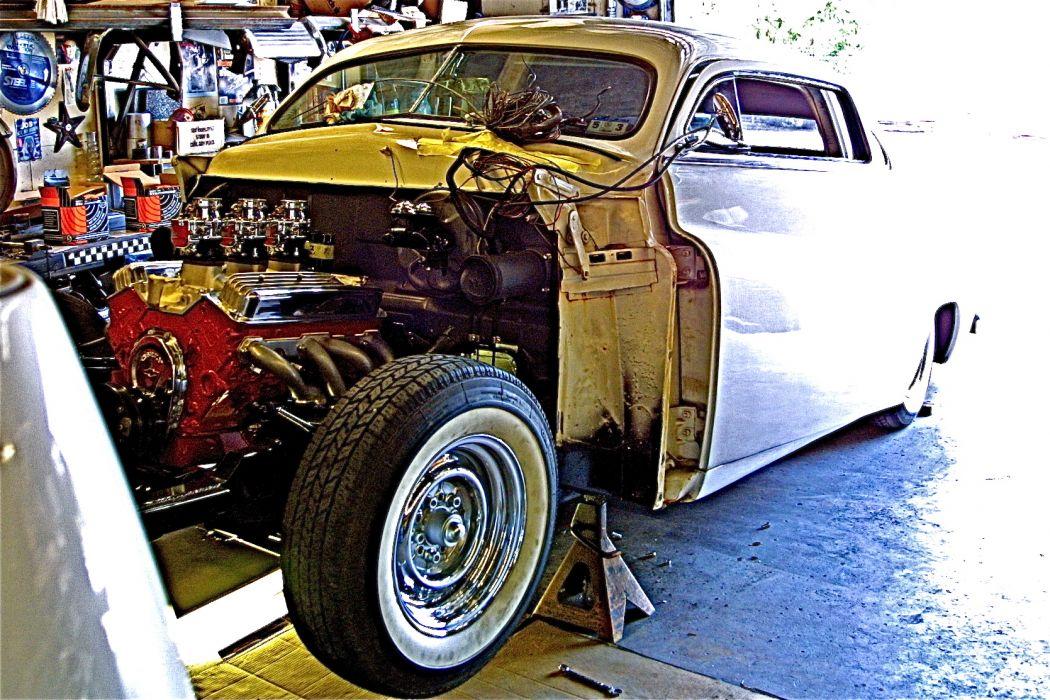 hot rod rods retro custom mercury engine     g wallpaper