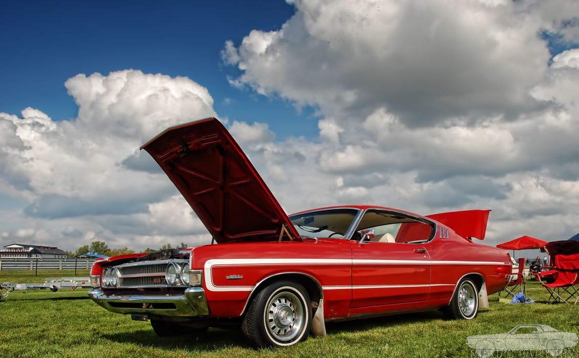 muscle classic 1968 ford torino     gt wallpaper