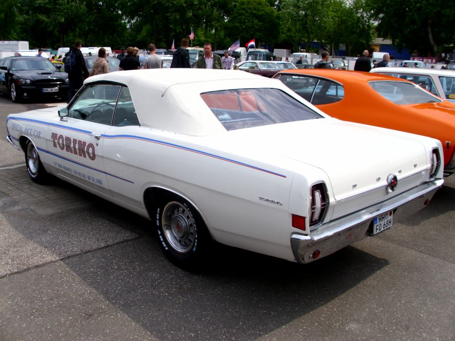 muscle classic 1968 ford torino       g wallpaper