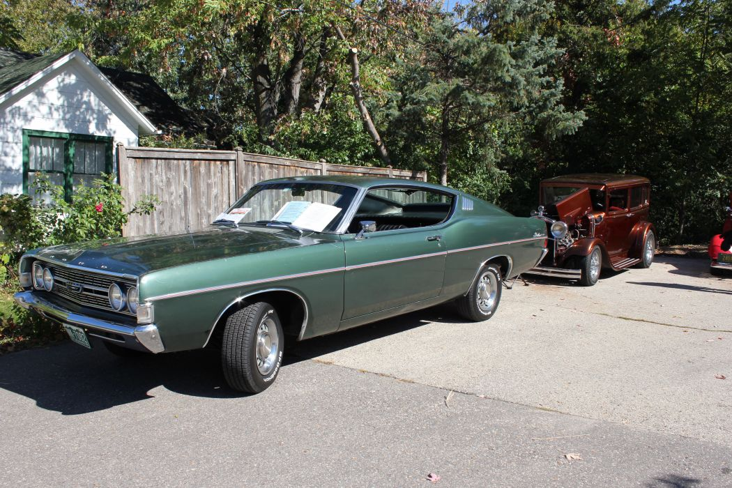 muscle classic 1968 ford fairlane          g wallpaper