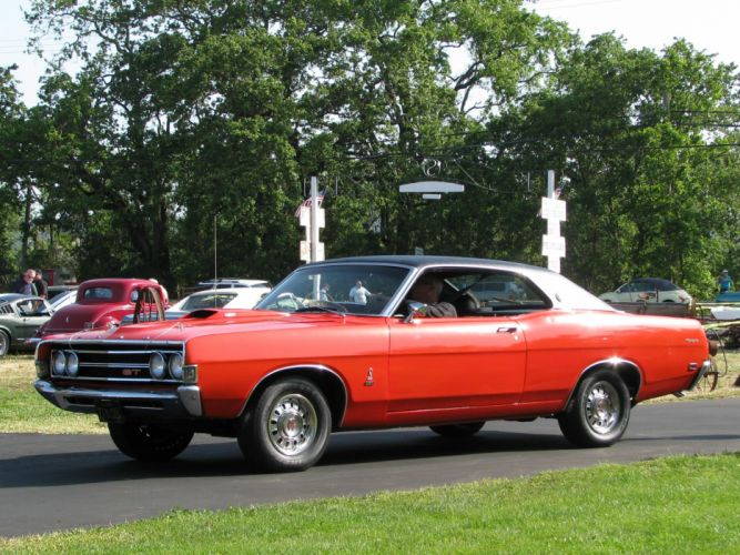 muscle classic 1968 ford torino t wallpaper