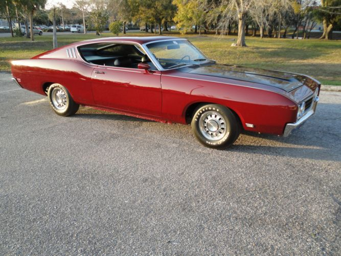 muscle classic 1969 Ford Talladega Coupe ew wallpaper