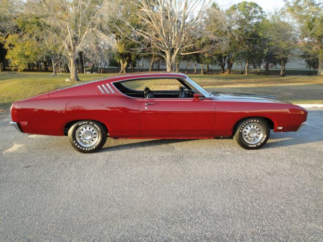muscle classic 1969 Ford Talladega Coupe rq wallpaper