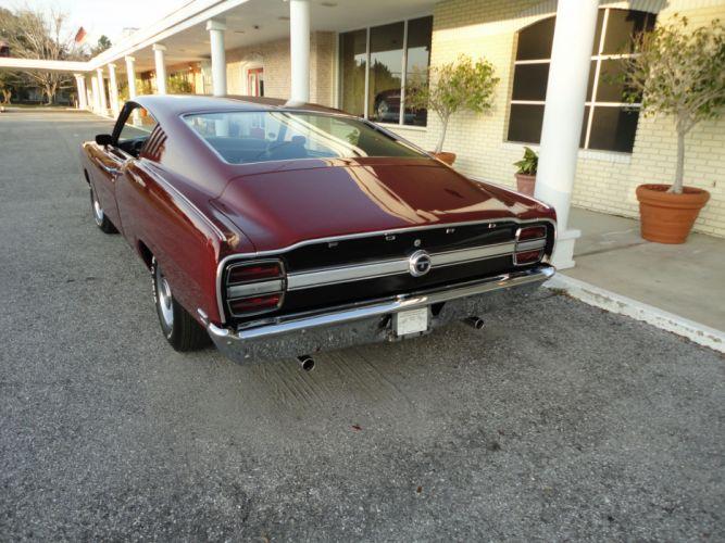 muscle classic 1969 Ford Talladega Coupe e wallpaper