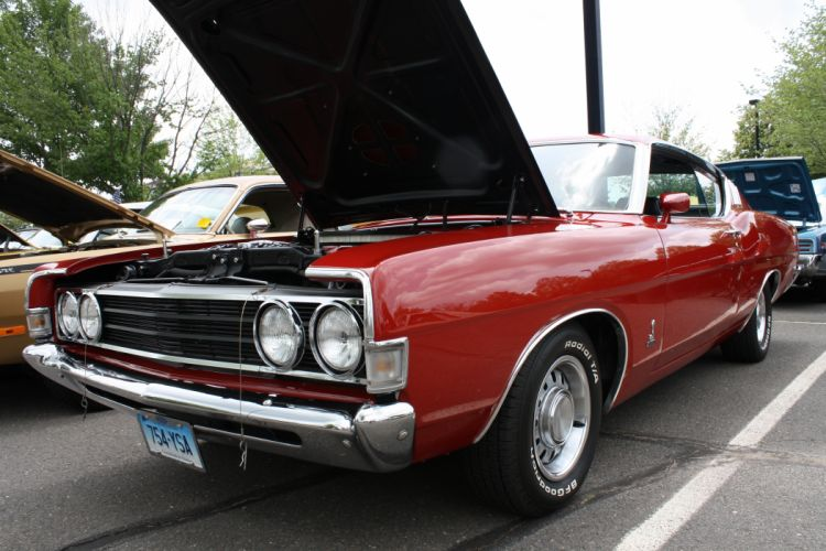 muscle classic 1969 ford torino t wallpaper