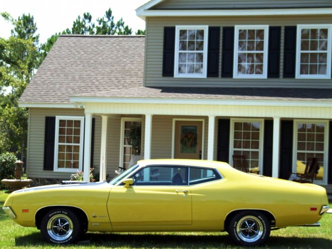 muscle classic 1970 Ford Torino r wallpaper