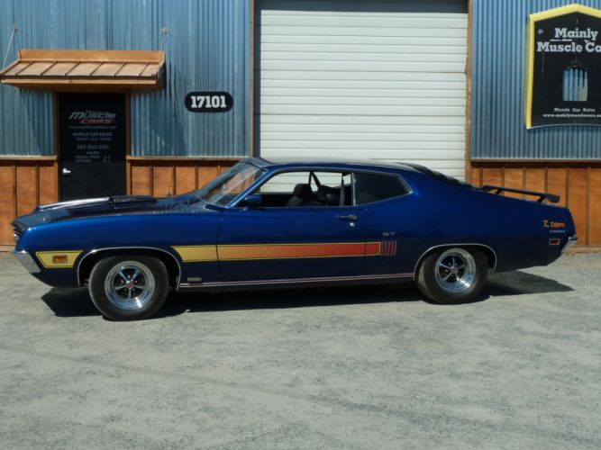 muscle classic 1970 Ford Torino f_JPG wallpaper