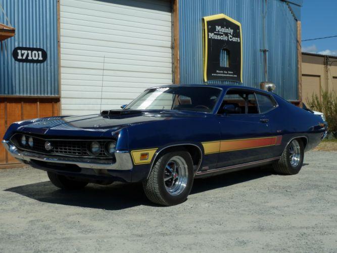 muscle classic 1970 Ford Torino r_JPG wallpaper