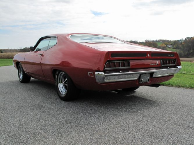 muscle classic 1970 Ford Torino d wallpaper