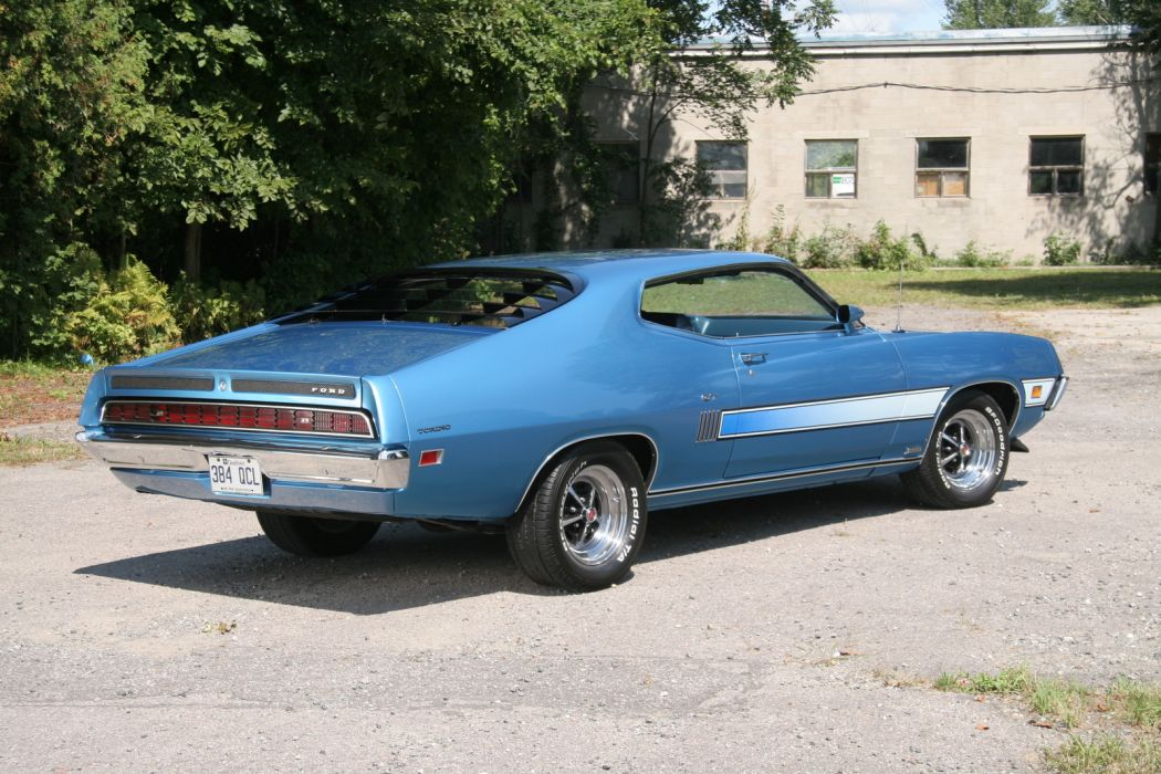 muscle classic 1970 Ford Torino  t wallpaper