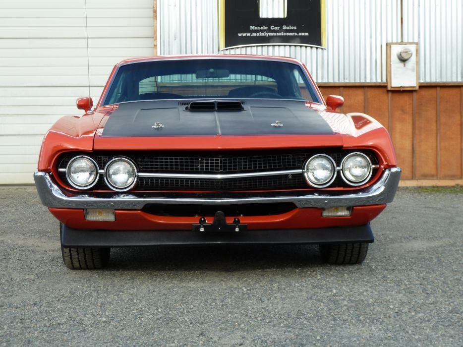 muscle classic 1970 Ford Torino  rr wallpaper